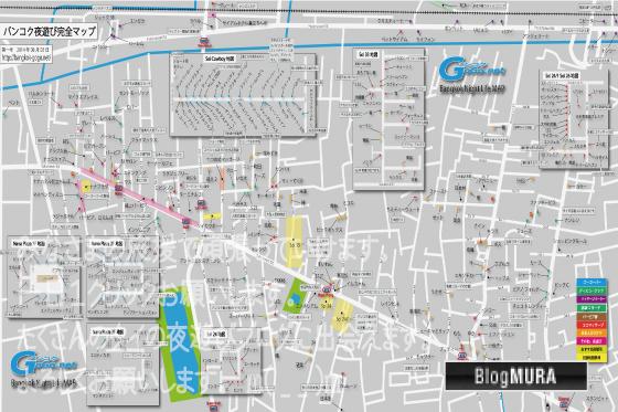 バンコク夜遊び地図